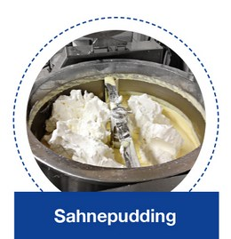 Puddingcreme in der KORÜ-mat 2G