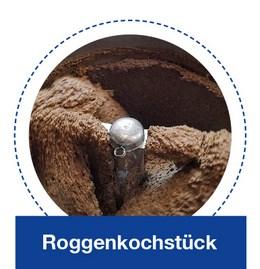 Roggenkochstück in der KORÜ-mat 2G