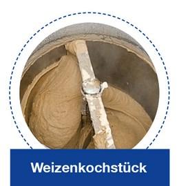 Weizenkochstück in der KORÜ-mat 2G