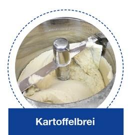 Kartoffelbrei in der KORÜ-mat 2G